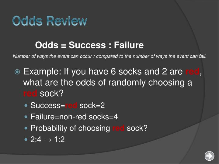 Odds Review