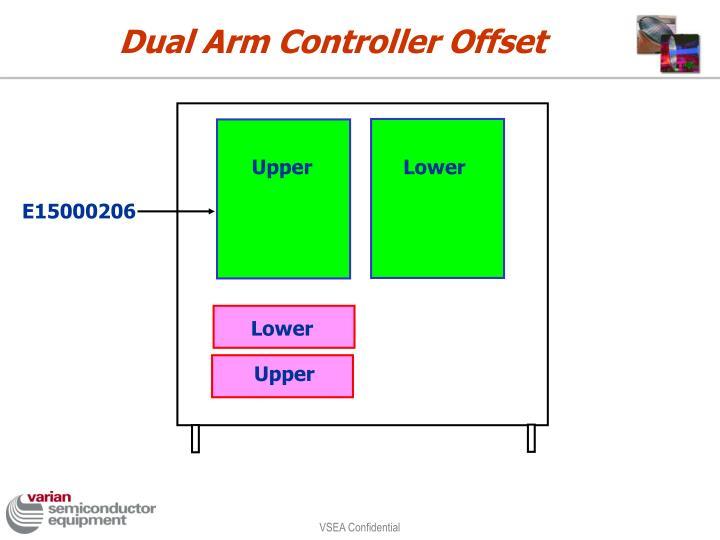 Dual Arm Controller Offset