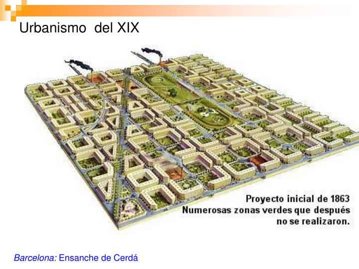 Urbanismo  del XIX