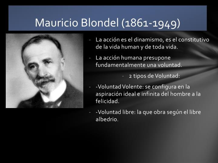 Mauricio Blondel (1861-1949)