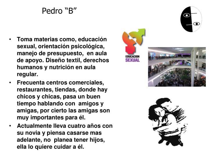 """Pedro """"B"""""""