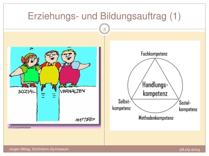 Erziehungs- und Bildungsauftrag (1)