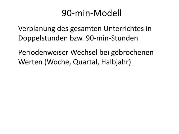 90-min-Modell