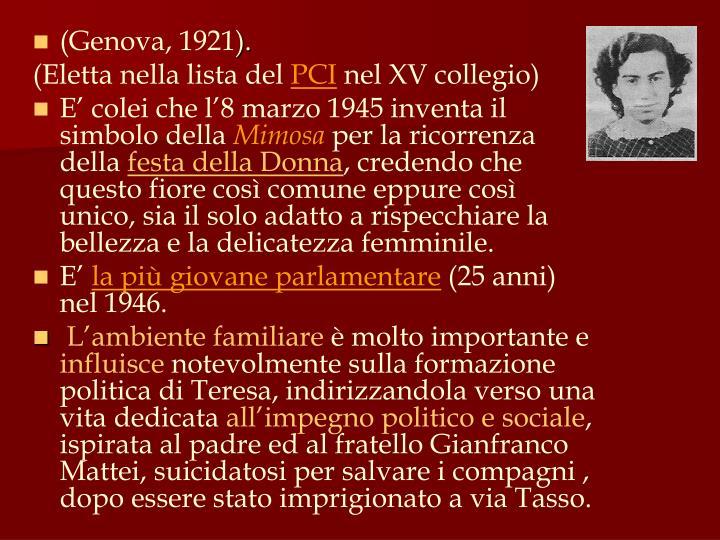 (Genova, 1921