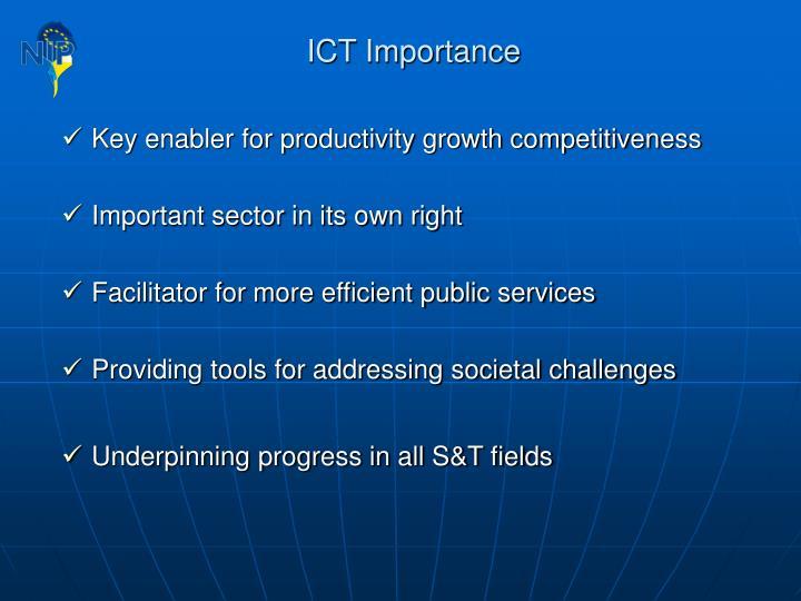 ICT Importance