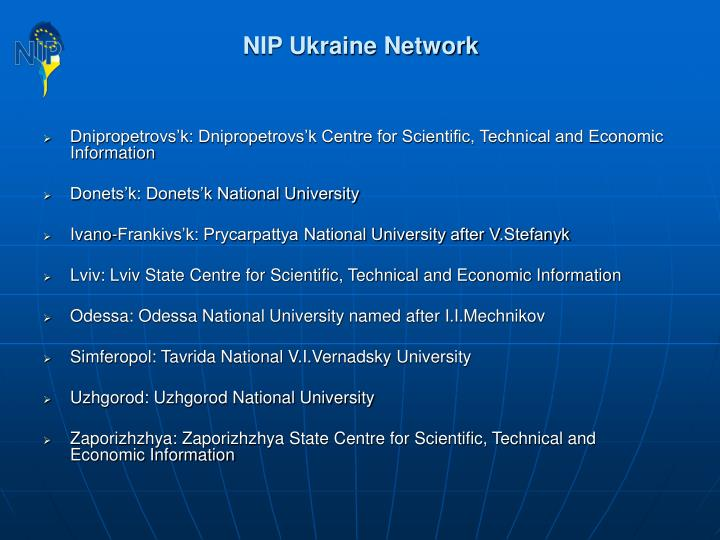 NIP Ukraine Network