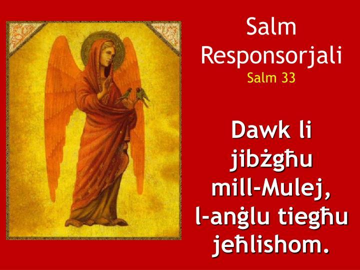 Salm Responsorjali