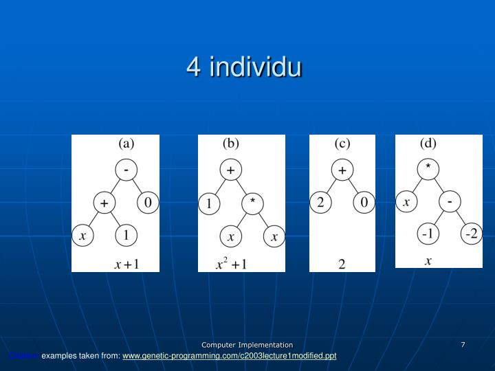 4 individu