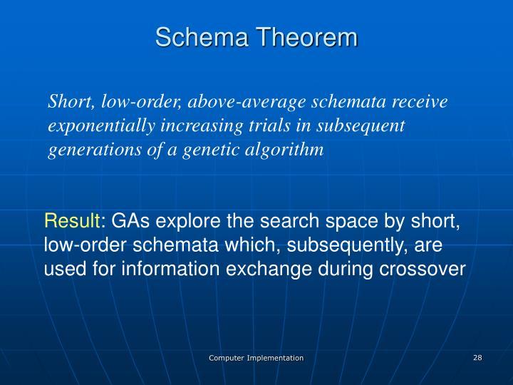 Schema Theorem