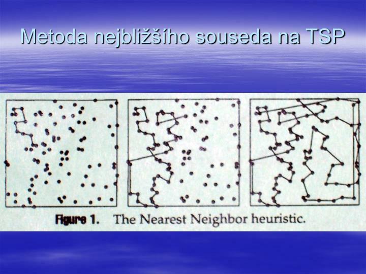 Metoda nejbližšího souseda na TSP