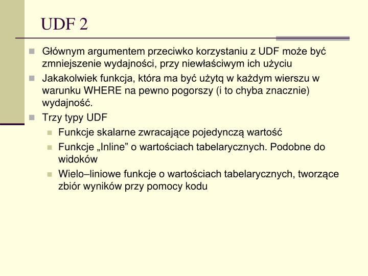 UDF 2