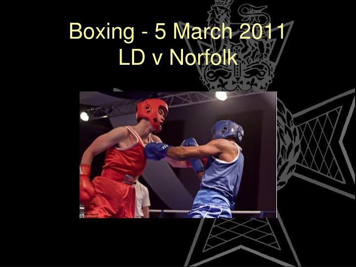 Boxing - 5