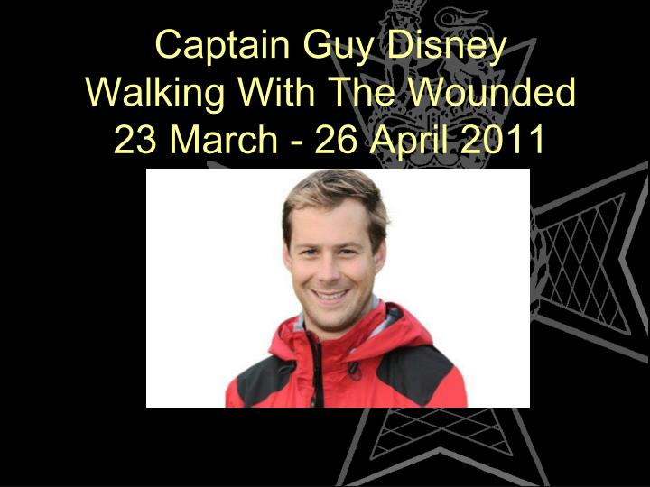 Captain Guy Disney