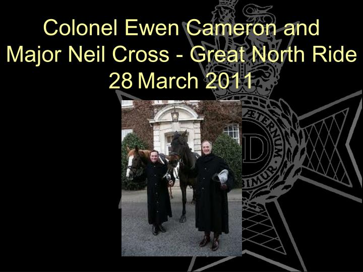 Colonel Ewen Cameron and