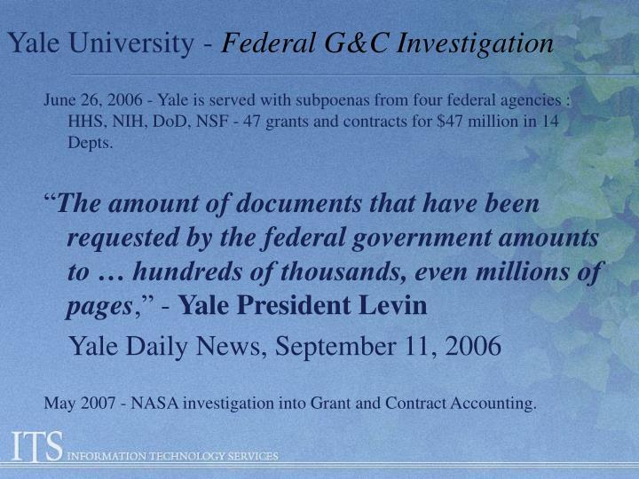 Yale University -