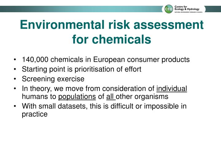 140,000 chemicals in European consumer products