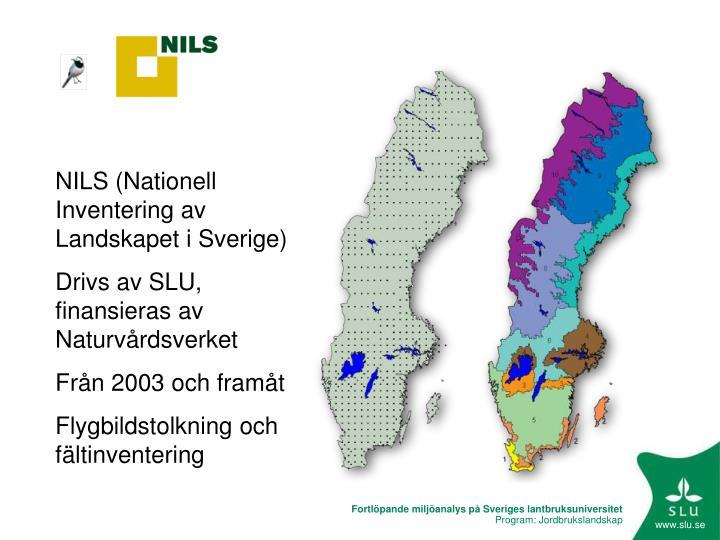 NILS (Nationell Inventering av Landskapet i Sverige)