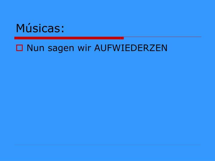 Músicas: