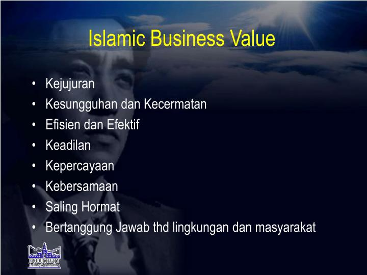Islamic Business Value