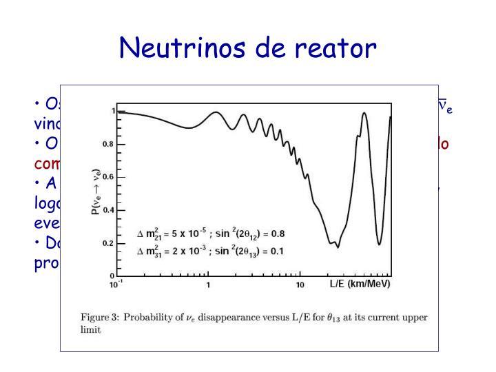 Os reatores nucleares são uma fonte isotrópica de