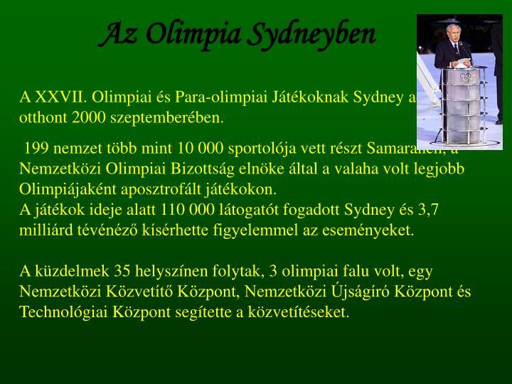 Az Olimpia Sydneyben