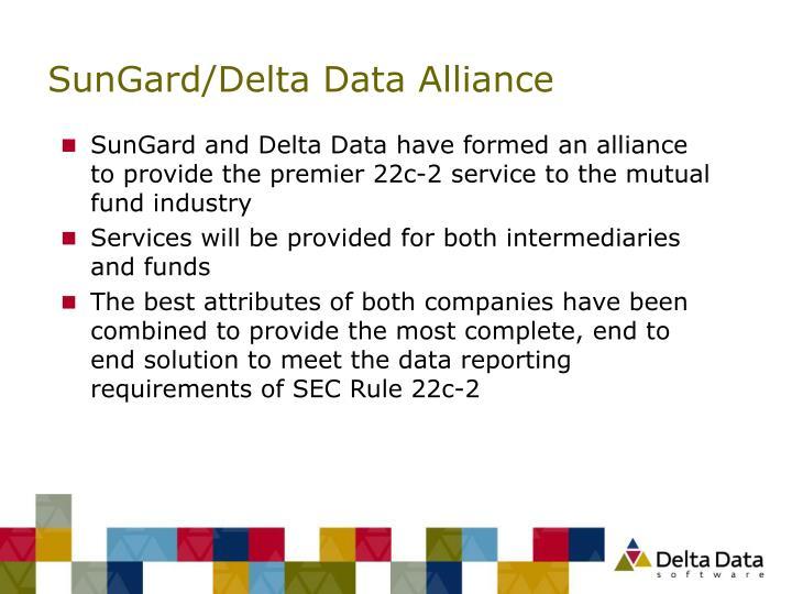 SunGard/Delta Data Alliance