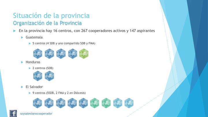 Situación de la provincia