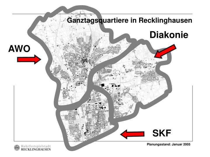 Ganztagsquartiere in Recklinghausen