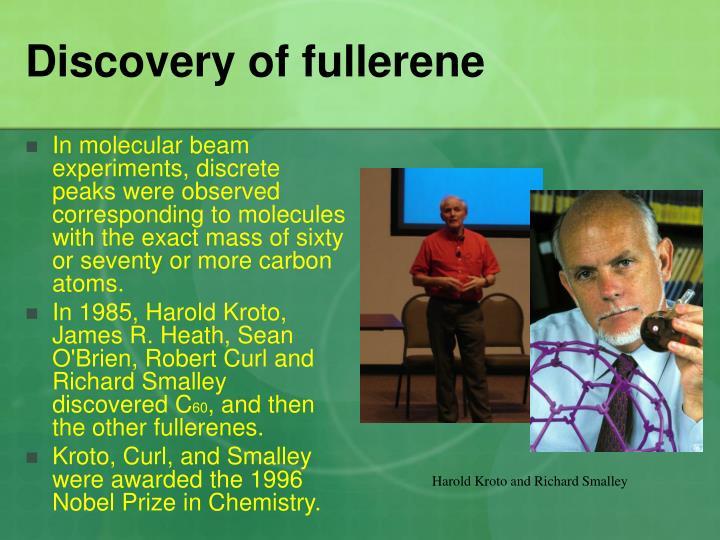 Discovery of fullerene