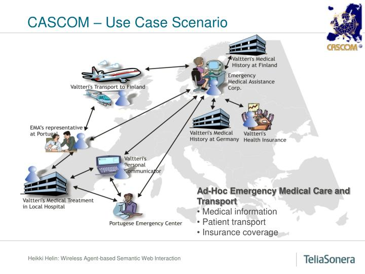 CASCOM – Use Case Scenario