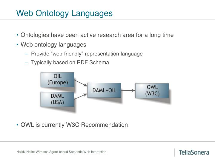 Web Ontology Languages