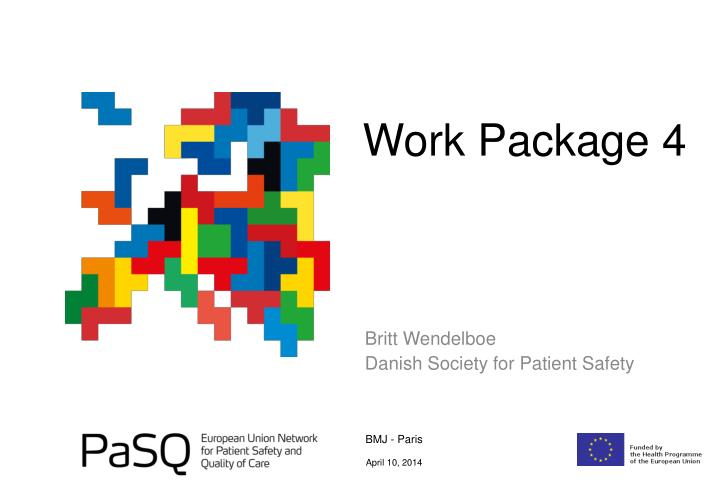 Work package 4
