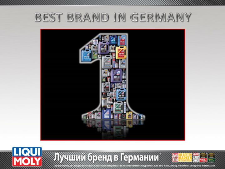 BEST BRAND IN GERMANY