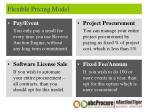 flexible pricing model