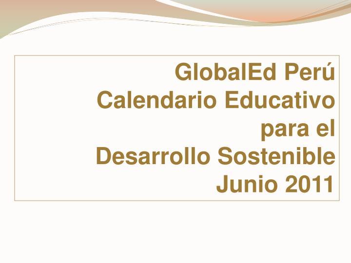 GlobalEd Per