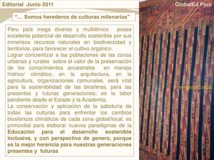 Editorial  Junio 2011