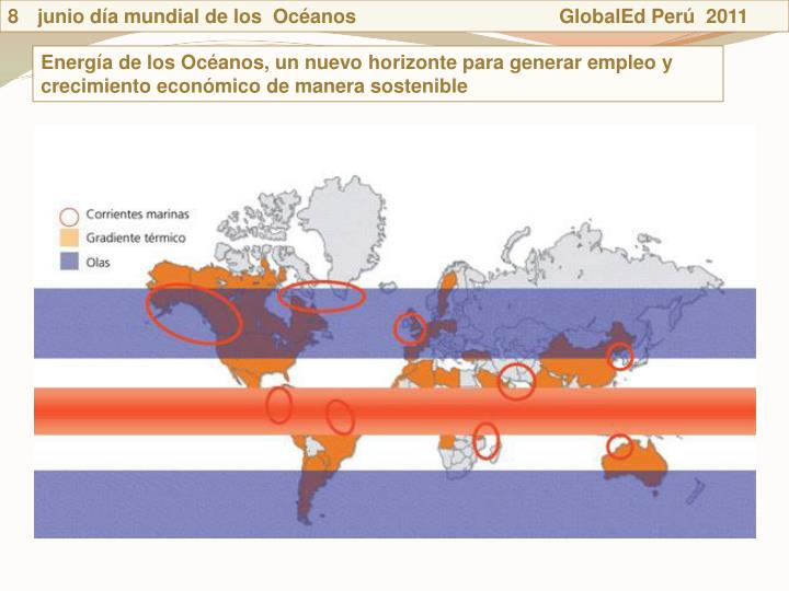 junio da mundial de los  Ocanos