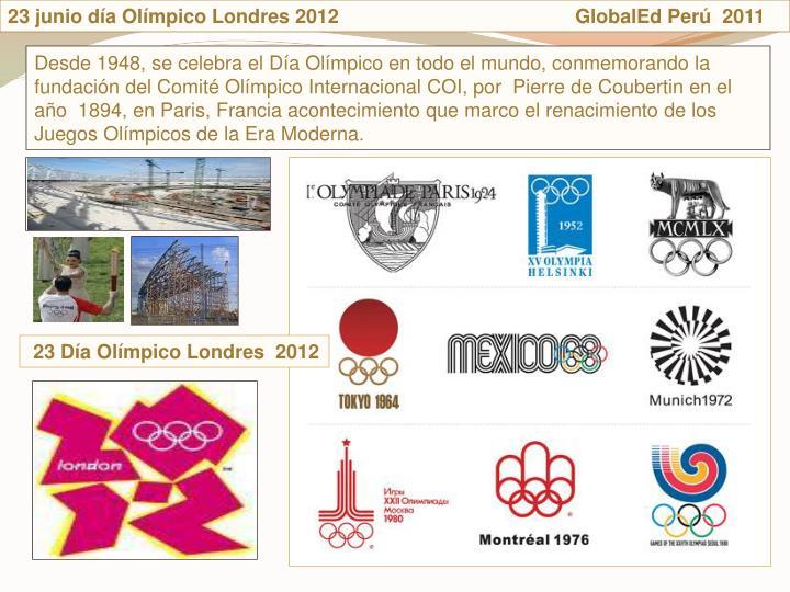 23 junio da Olmpico Londres 2012