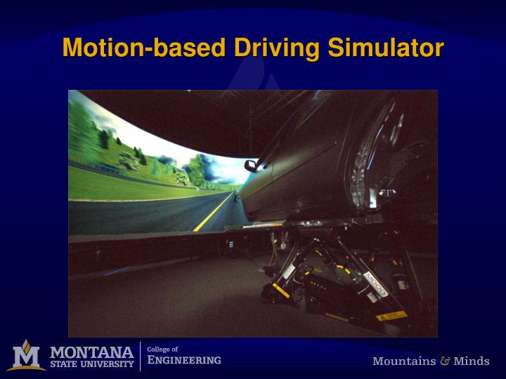 Motion-based Driving Simulator