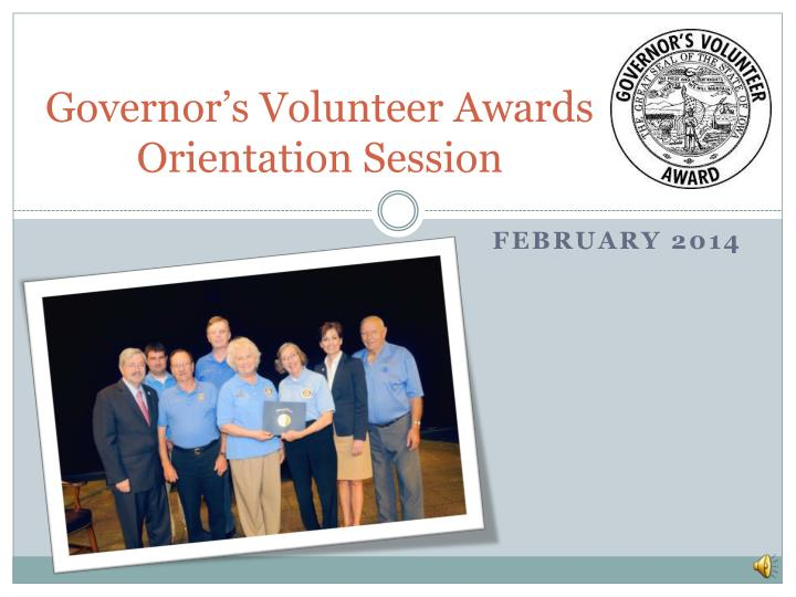 Governor's Volunteer Awards