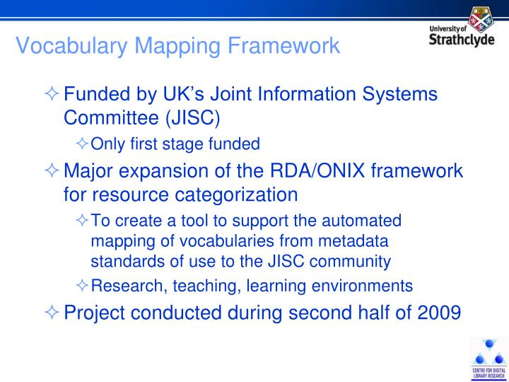 Vocabulary Mapping Framework
