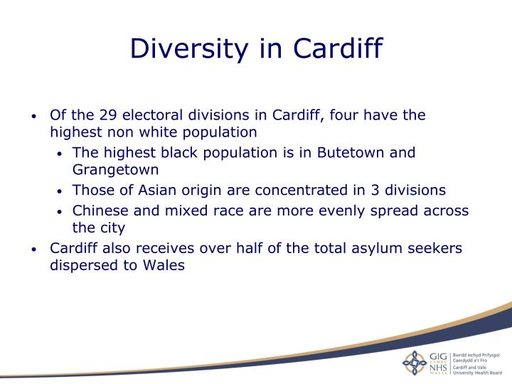 Diversity in Cardiff