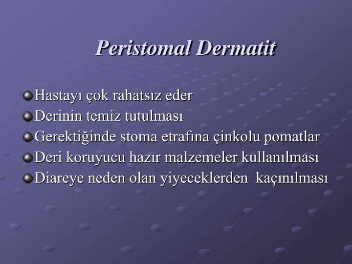 Peristomal Dermatit