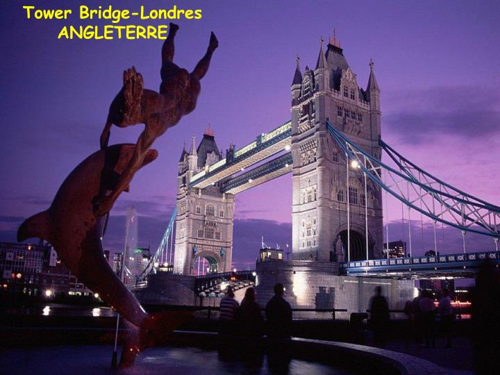 Tower Bridge-Londres