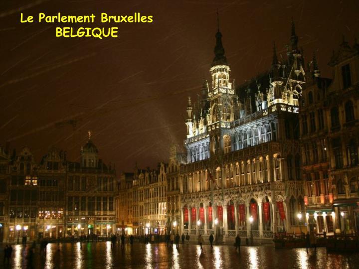 Le Parlement Bruxelles
