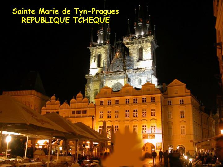 Sainte Marie de Tyn-Pragues