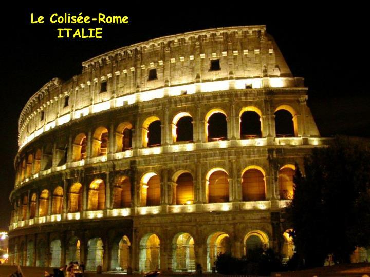 Le Colisée-Rome