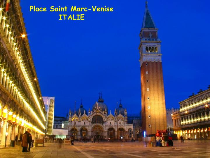 Place Saint Marc-Venise