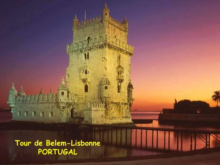 Tour de Belem-Lisbonne