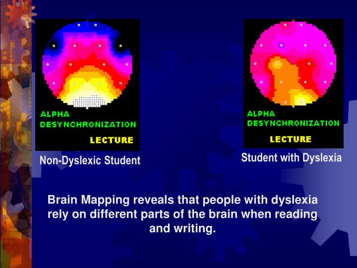 Student with Dyslexia